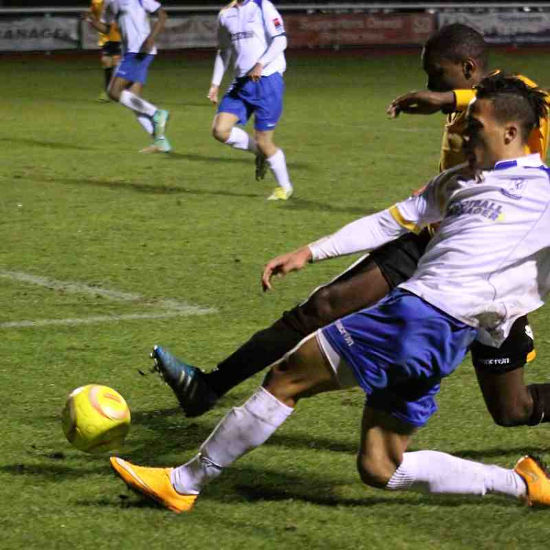 Enfield Town 0 East Thurrock United 2 (16.12.2014)