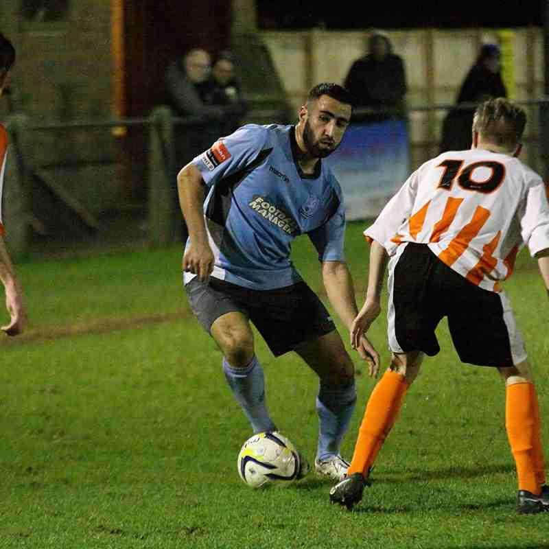 Ashford Town 1 Enfield Town 3 (06.01.2015)
