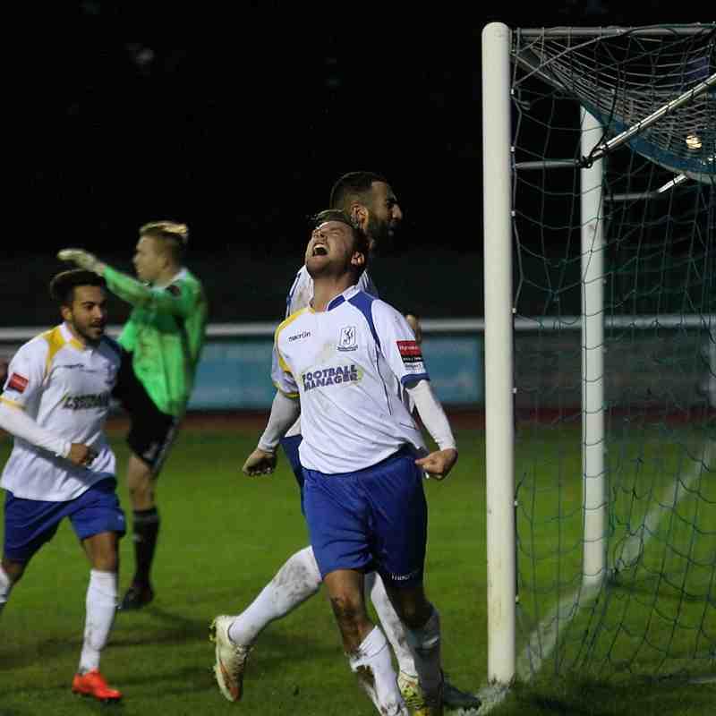 Enfield Town 1 Hendon 0 (10.01.2015)
