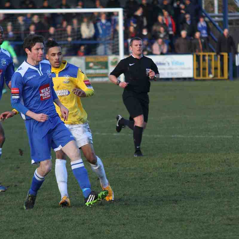 Tonbridge Angels 2 Enfield Town 1 (17.01.2015)