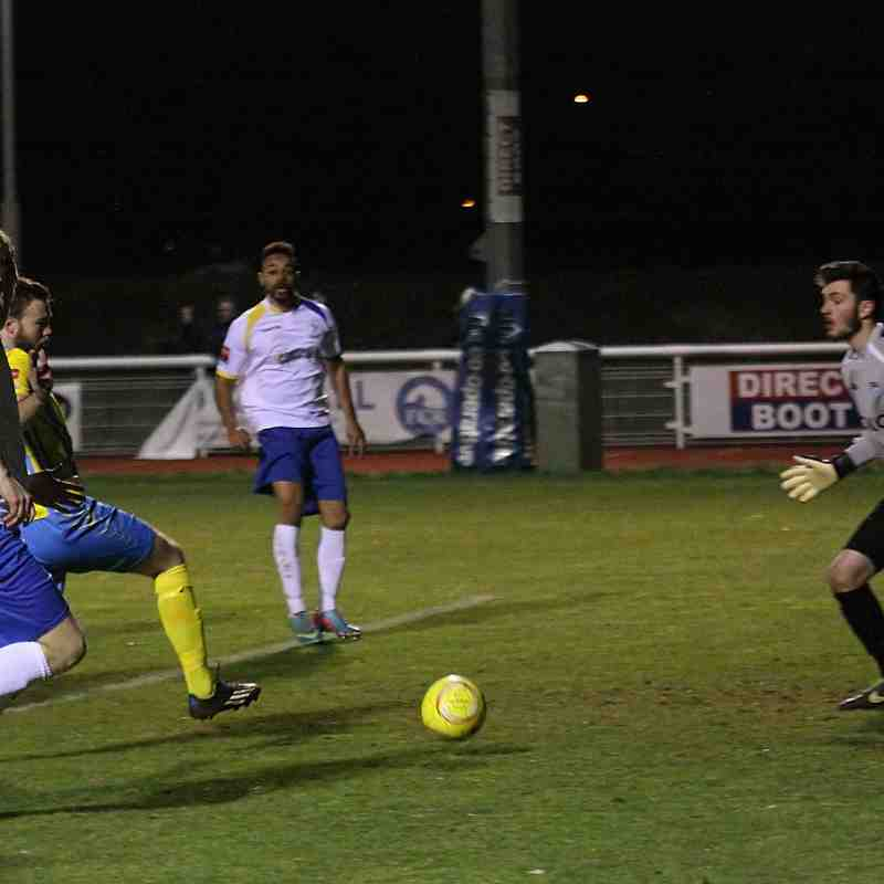 Enfield Town 3 Canvey Island 2 (20.01.2015)