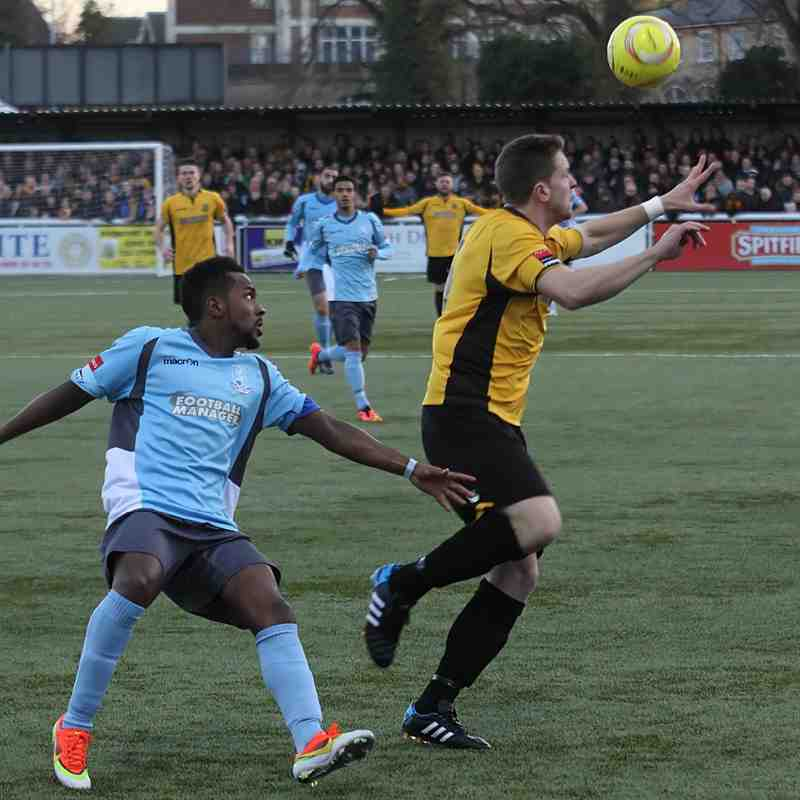 Maidstone United 0 Enfield Town 3 (24.01.2015)