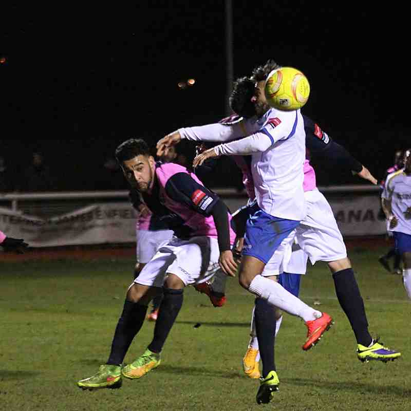 Enfield Town 0 Dulwich Hamlet 1 (27.01.2015)