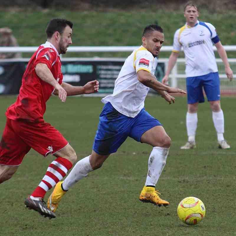 Enfield Town 0 Leiston 2 (28.02.2015)