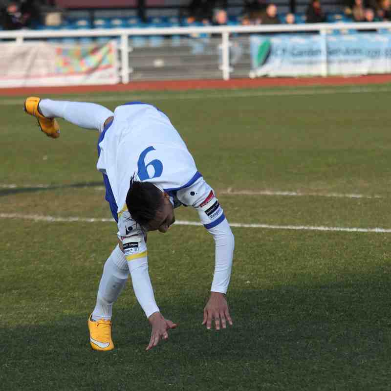 Enfield Town 3 Leatherhead 1 (14.03.2015)