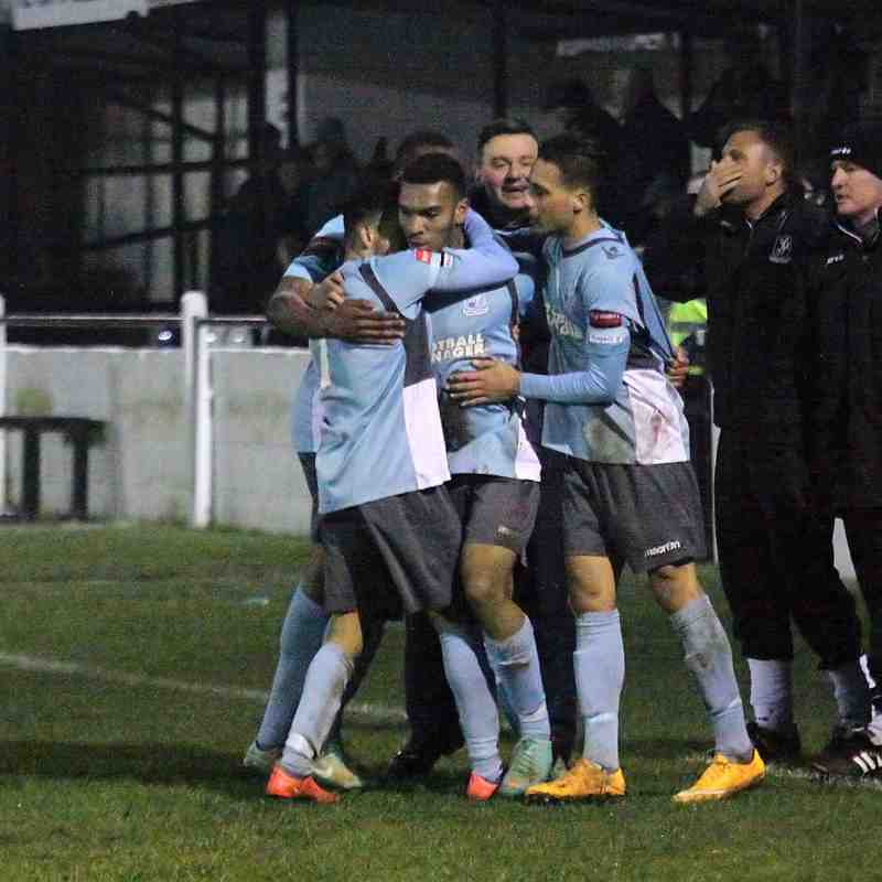 Witham Town 1 Enfield Town 2 (17.03.2015)