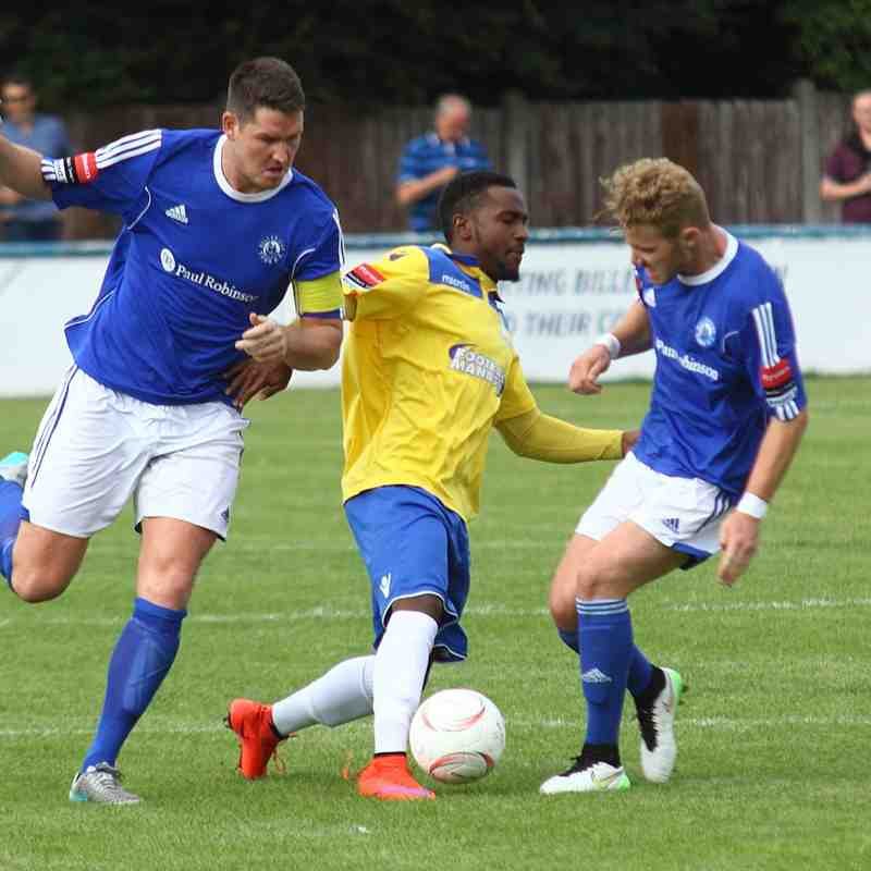 Billericay Town 3 Enfield Town 0 (15.08.2015)