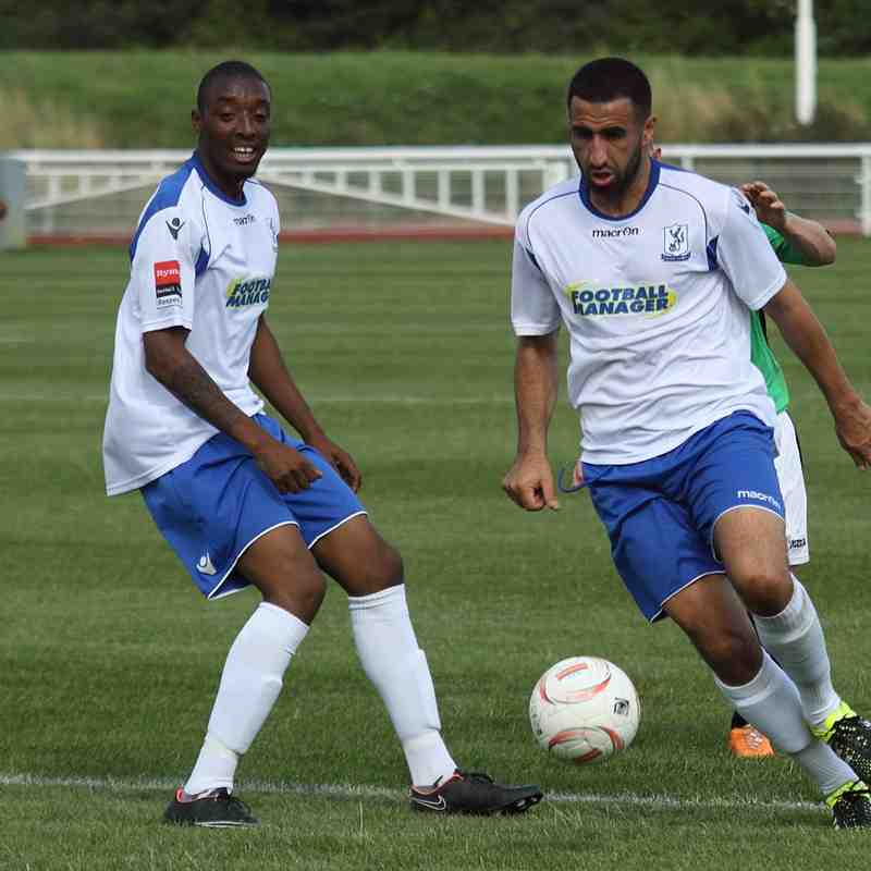 Enfield Town 1 Burgess Hill Town 0 (22.08.2015)