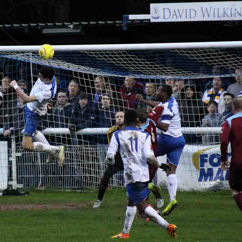 Enfield Town 2 Brentwood Town 1 (02.01.2016)