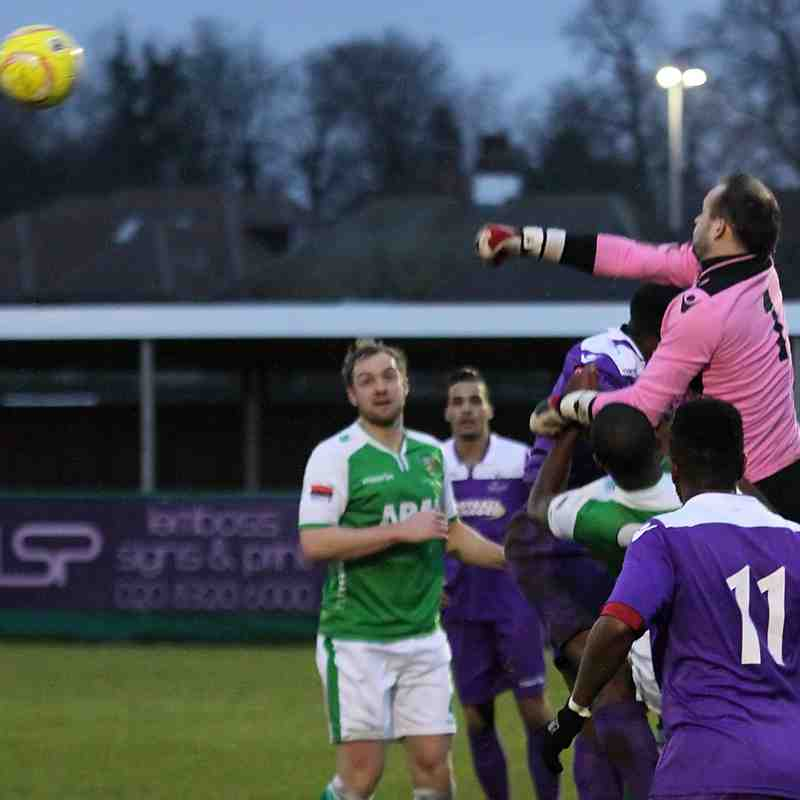 VCD Athletic 3 Enfield Town 2 (23.01.2016)