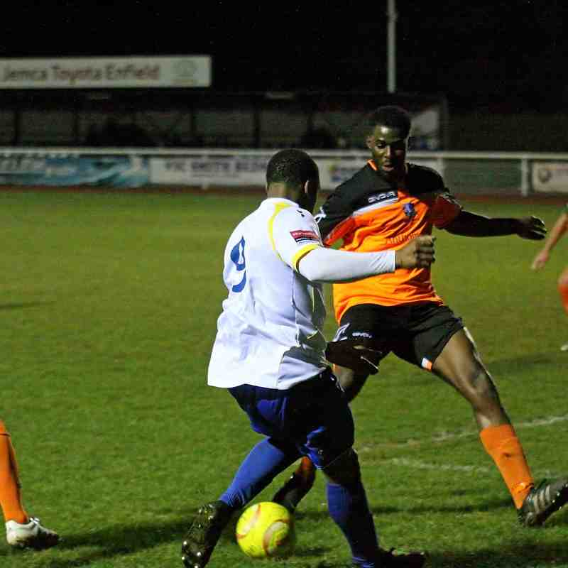 Enfield Town 1 Wingate & Finchley 3 (16.02.2016)