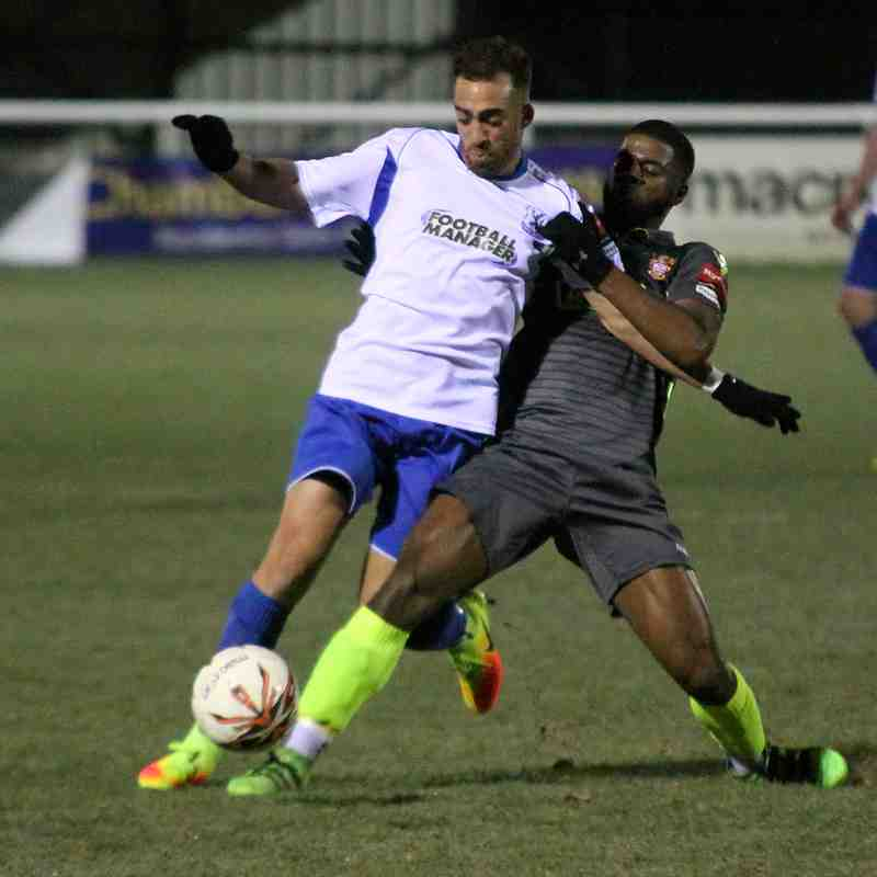 Enfield Town 2 Staines Town 1 (29.11.2016)