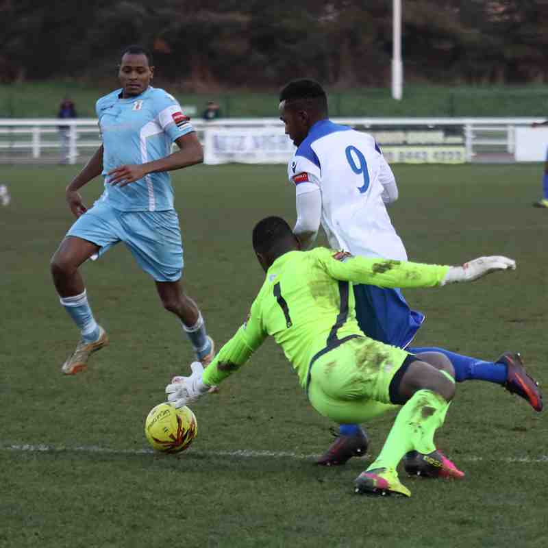Enfield Town 2 Grays  Athletic 0 (21.01.2017)