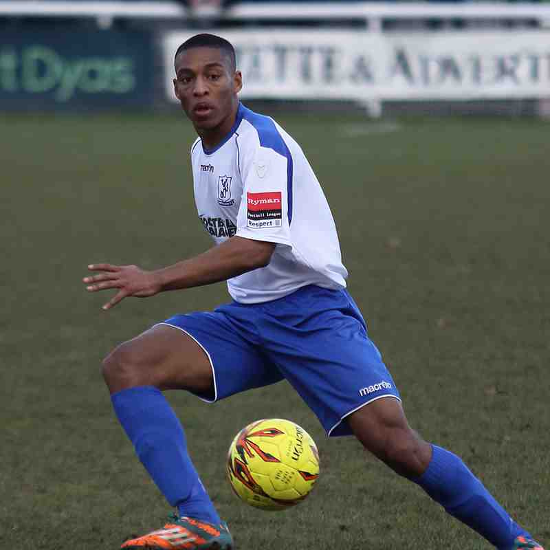 Enfield Town 0 Burgess Hill Town 1 (28.01.2017)