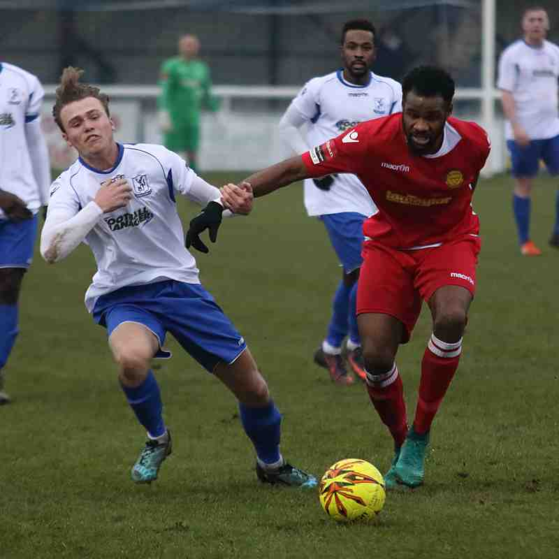 Enfield Town 2 Merstham 3 (11.02.2017)