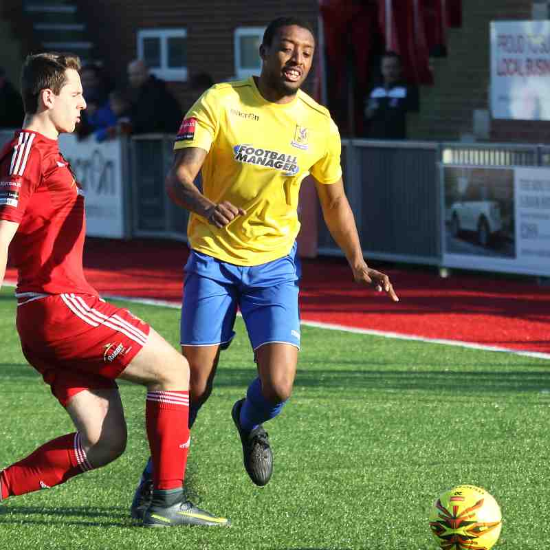 Worthing 1 Enfield Town 3 (18.02.2017)