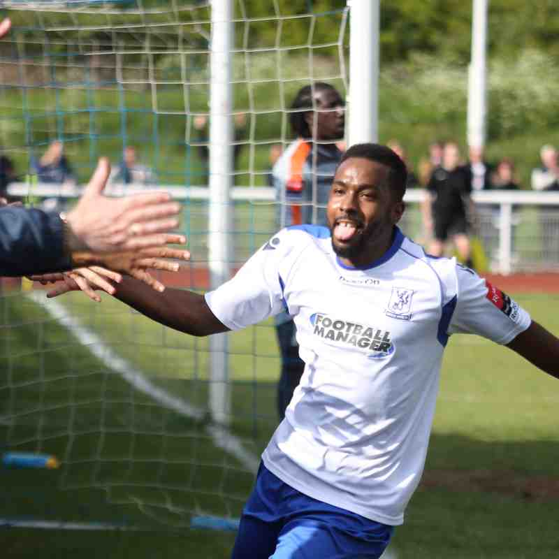 Enfield Town 1 Leiston 1 (22.04.2017)