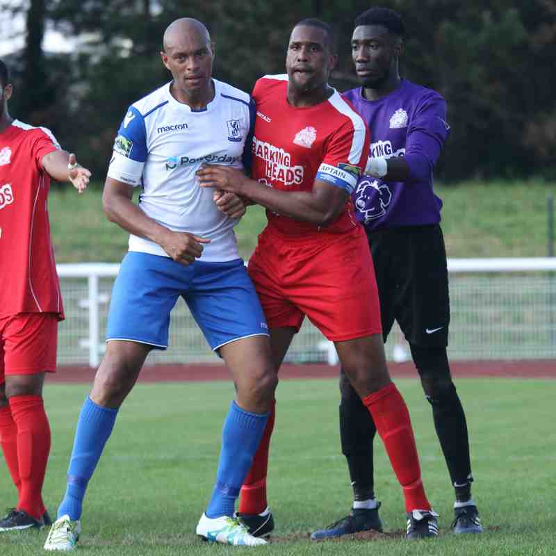Enfield Town 2 Harrow Borough 1 (02.09.2017)
