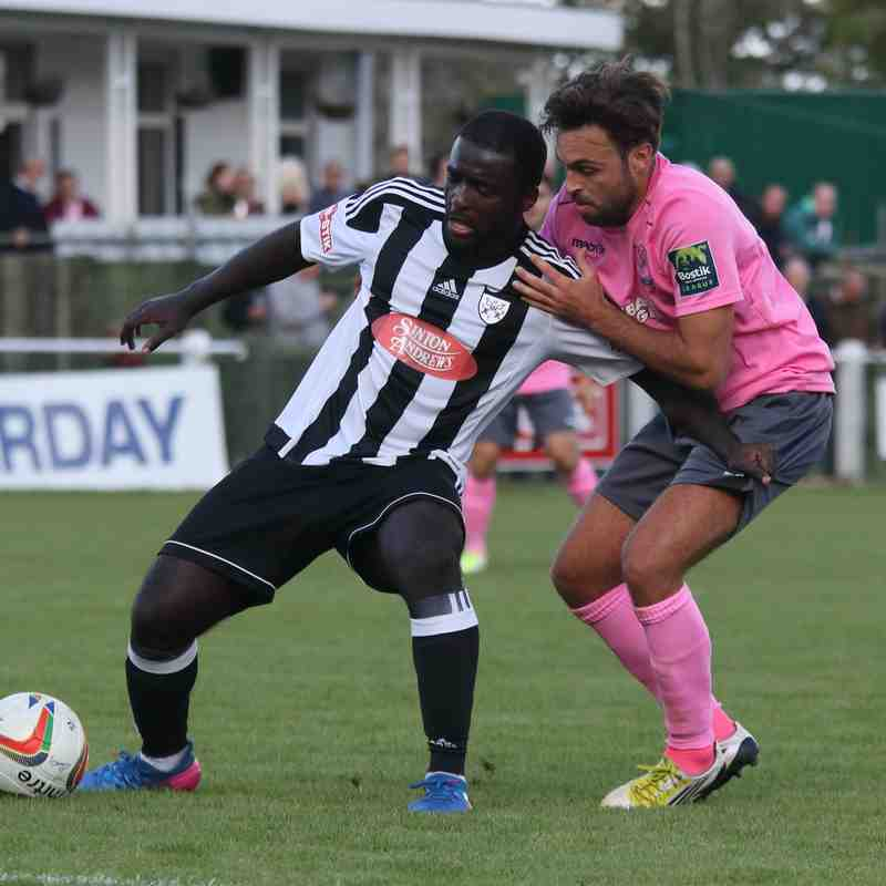 Hanwell Town 0 Enfield Town 0 (16.09.2017)