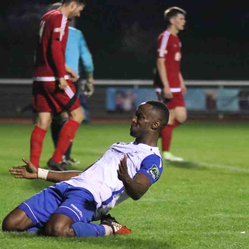 Enfield Town 5 Hanwell Town 0 (19.09.2017)