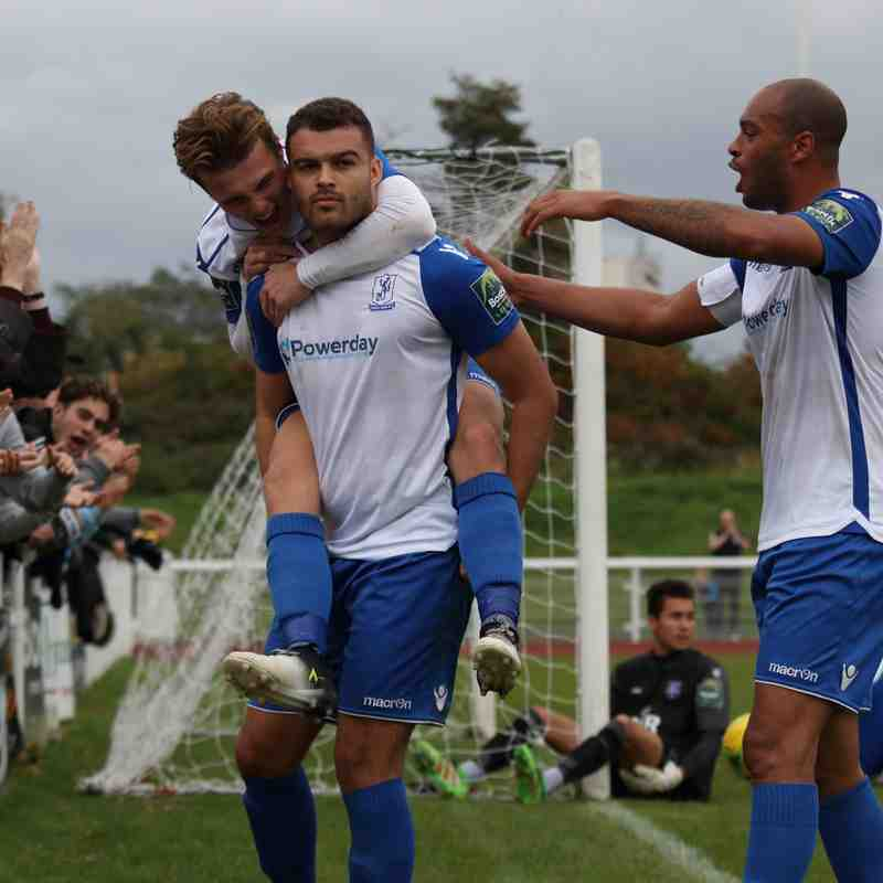 Enfield Town 2 Margate 1 (07.10.2017)