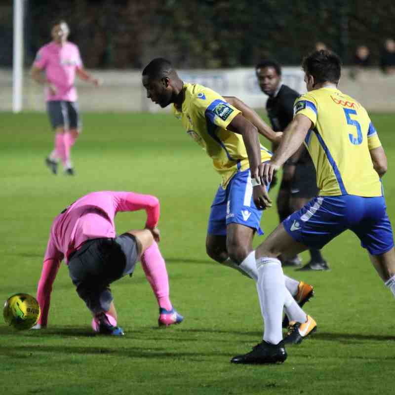 Staines Town 3 Enfield Town 2 (31.10.2017)
