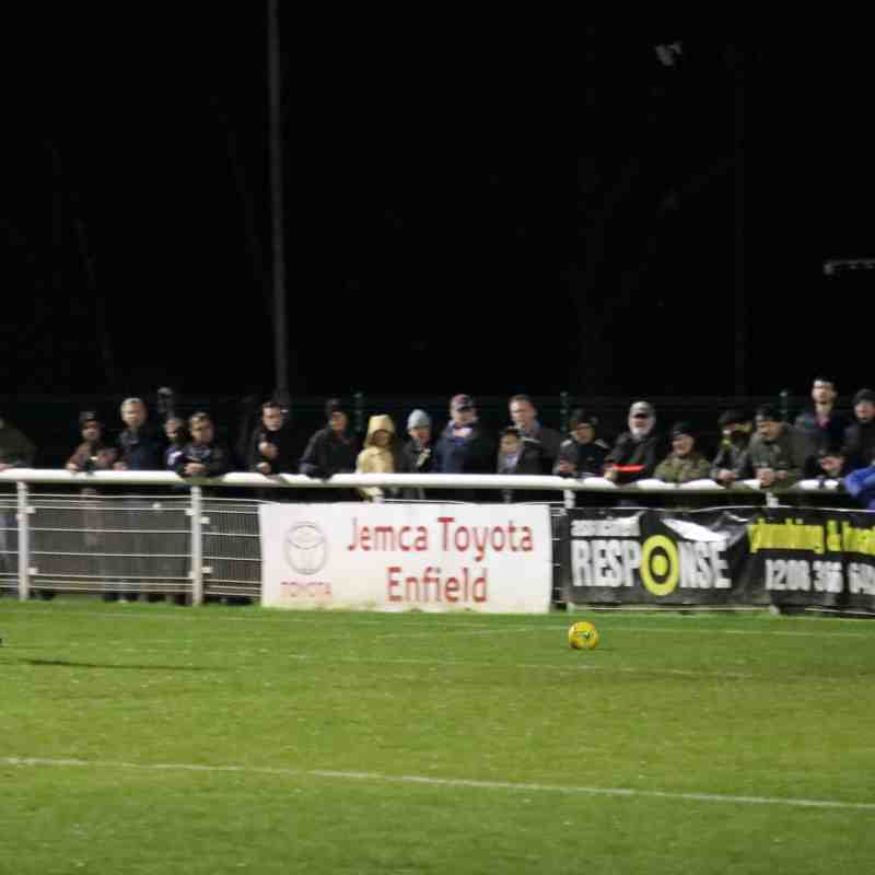 Enfield Town 3 Thurrock 1 (18.11.2017)