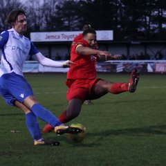 Enfield Town 3 Harrow Borough 0 (01.01.2018)
