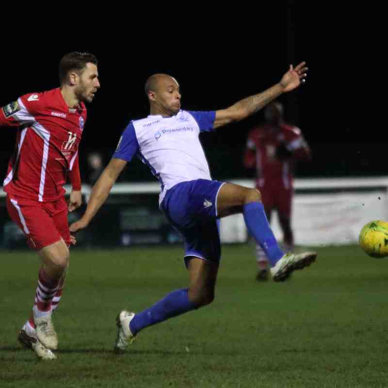 Enfield Town 0 Tonbridge Angels 1 (16.01.2018)