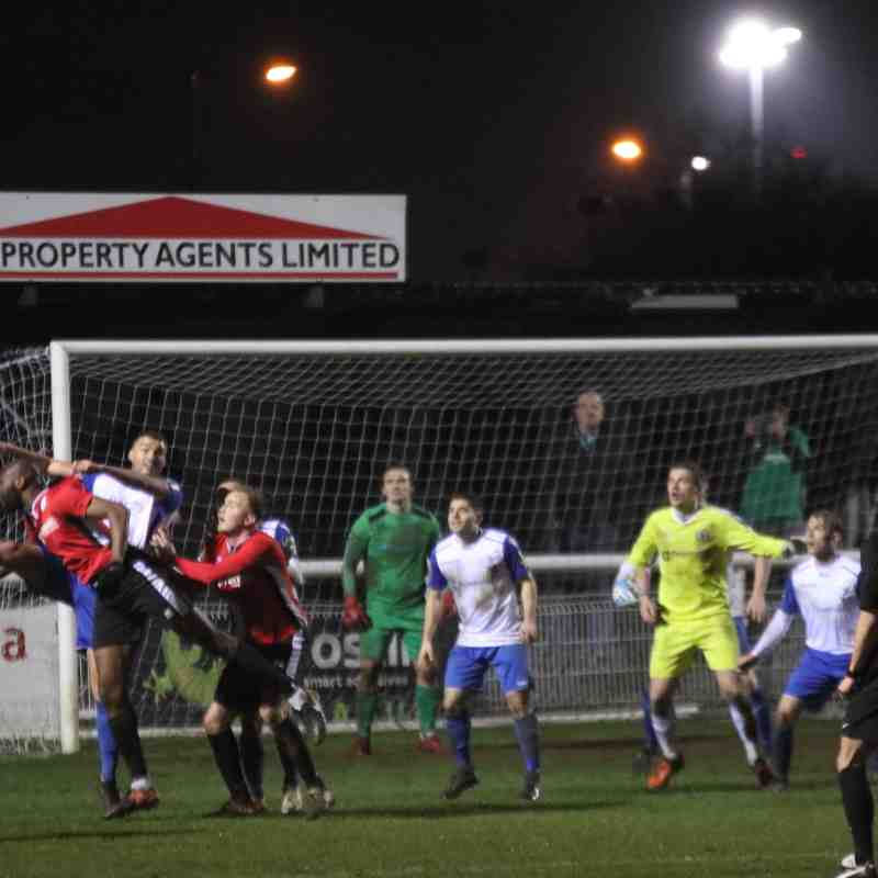 Enfield Town 3 Burgess Hill Town 2 (13.02.2018)