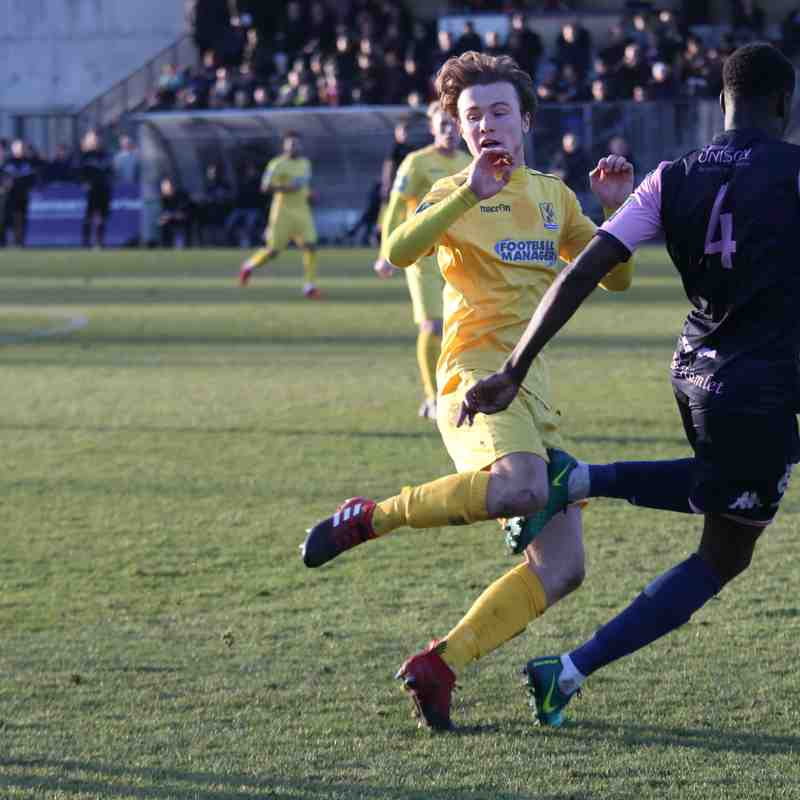 Dulwich Hamlet 1 Enfield Town 1 (17.02.2018)