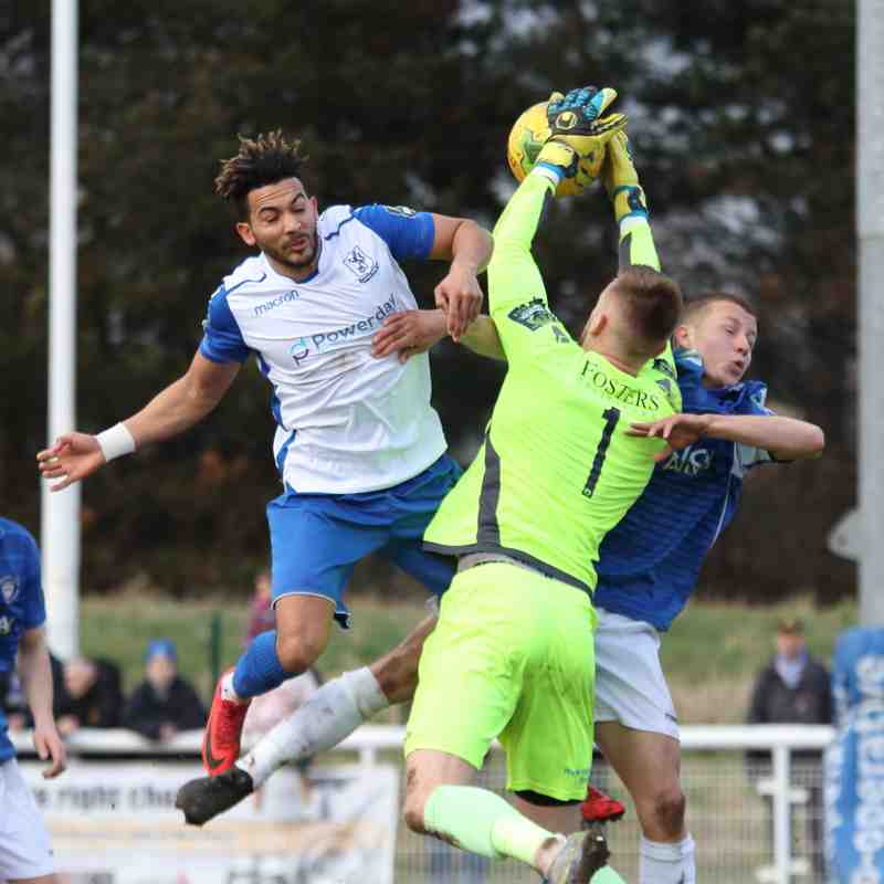 Enfield Town 3 Lowestoft Town 0 (10.03.2018)