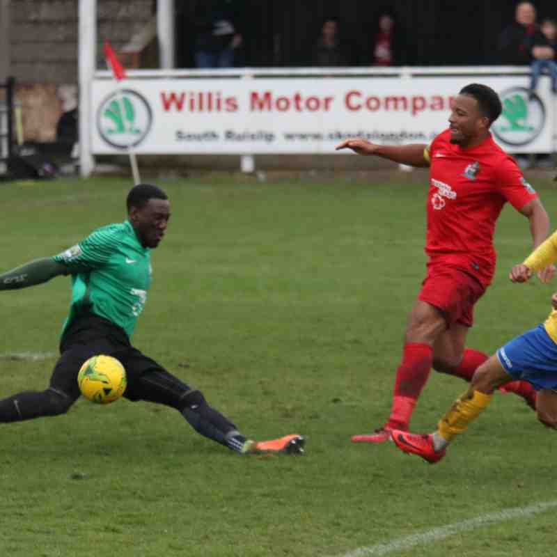 Harrow Borough 5 Enfield Town 0 (02.04.2018)