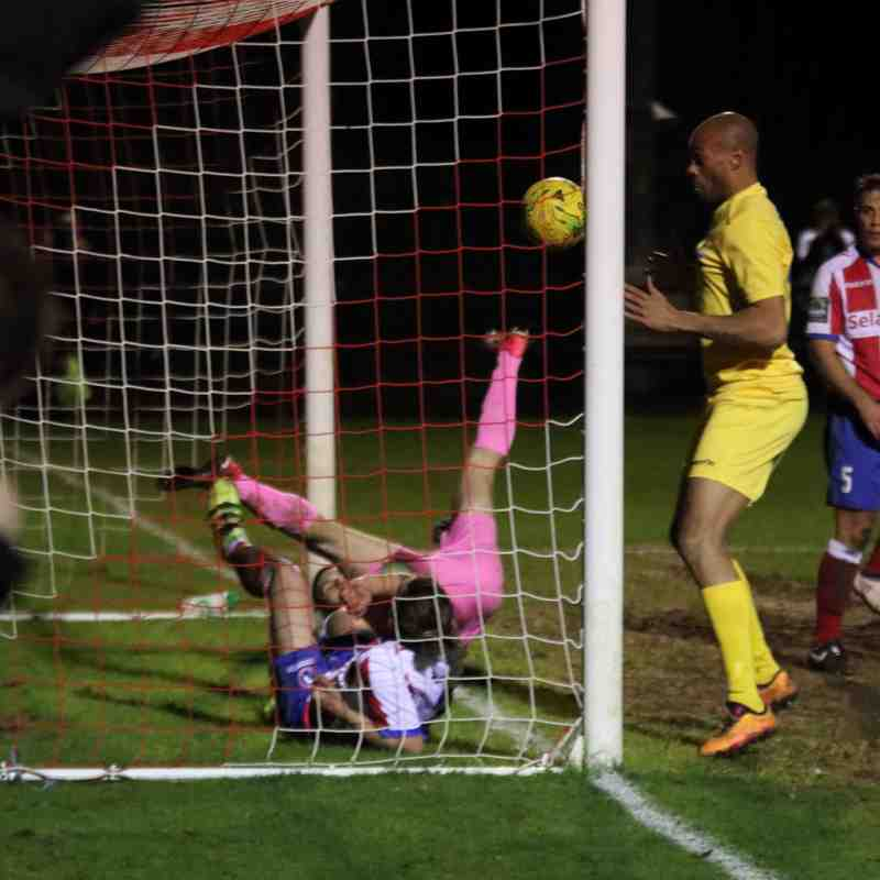 Dorking Wanderers 2 Enfield Town 2 (05.04.2018)