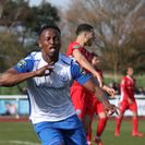Last gasp strike secures point for Town