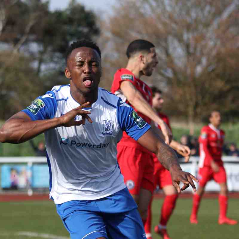Enfield Town 1 Billericay Town 1 (07.04.2018)