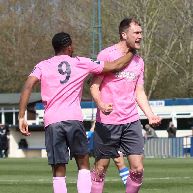 Tonbridge Angels 1 Enfield Town 4 (14.04.2018)