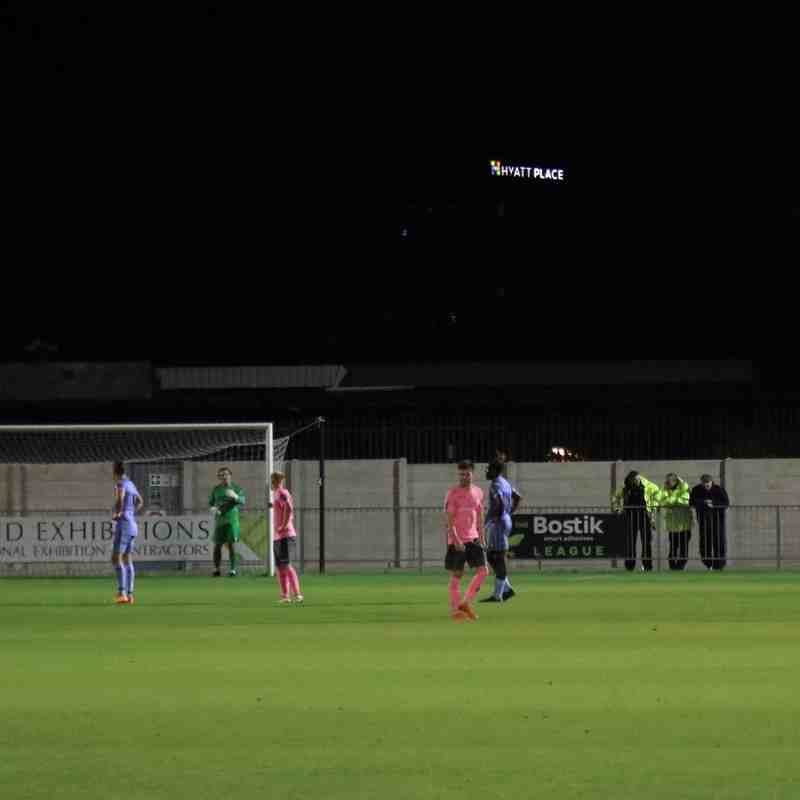 Hayes & Yeading United 4 Enfield Town 1 (06.11.2018)