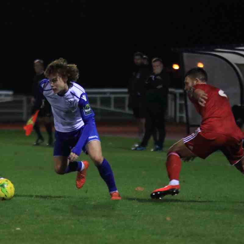 Enfield Town 1 Worthing 4 (13.11.2018)