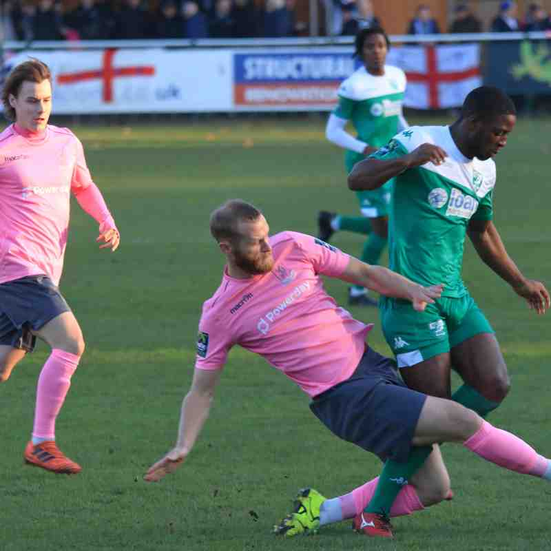 Leatherhead 4 Enfield Town 1 (17.11.2018)