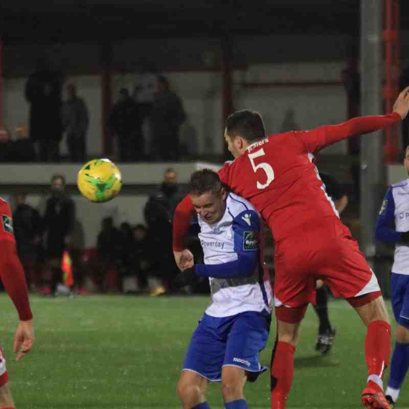 Carshalton Athletic 1 Enfield Town 0 (01.12.2018)