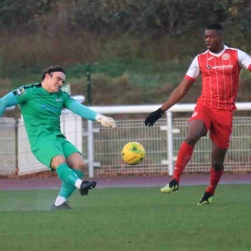 Enfield Town 4 Harlow Town 1 (08.12.2018)