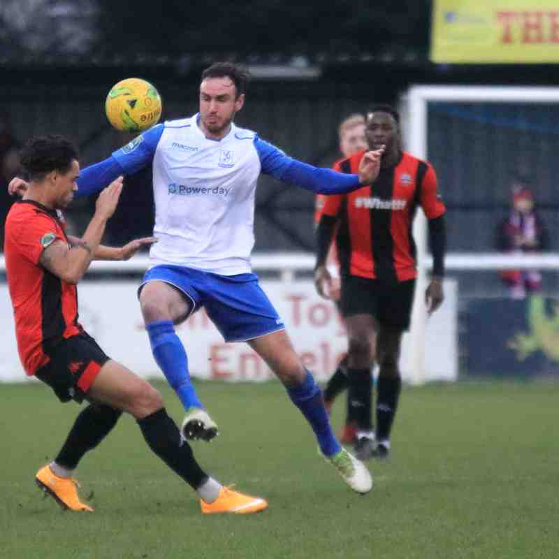 Enfield Town 1 Lewes 1 (05.01.2019)