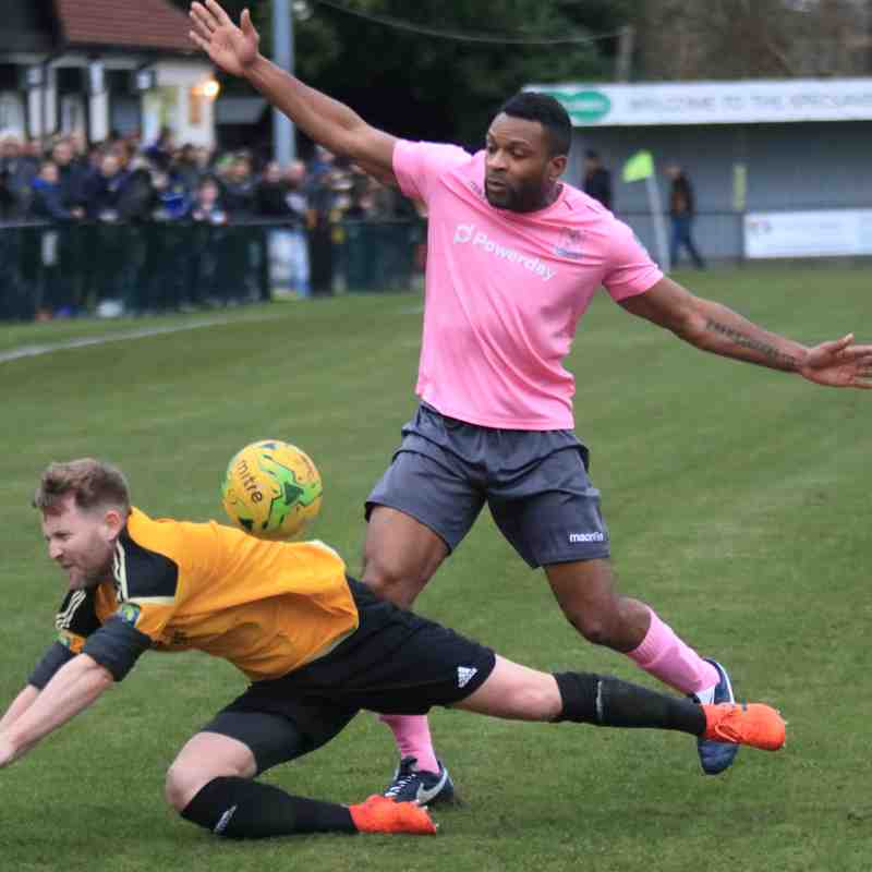 Merstham 1 Enfield Town 0 (12.01.2019)