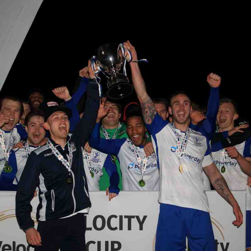 Enfield Town 2 AFC Hornchurch 0 (Velocity Trophy Final)