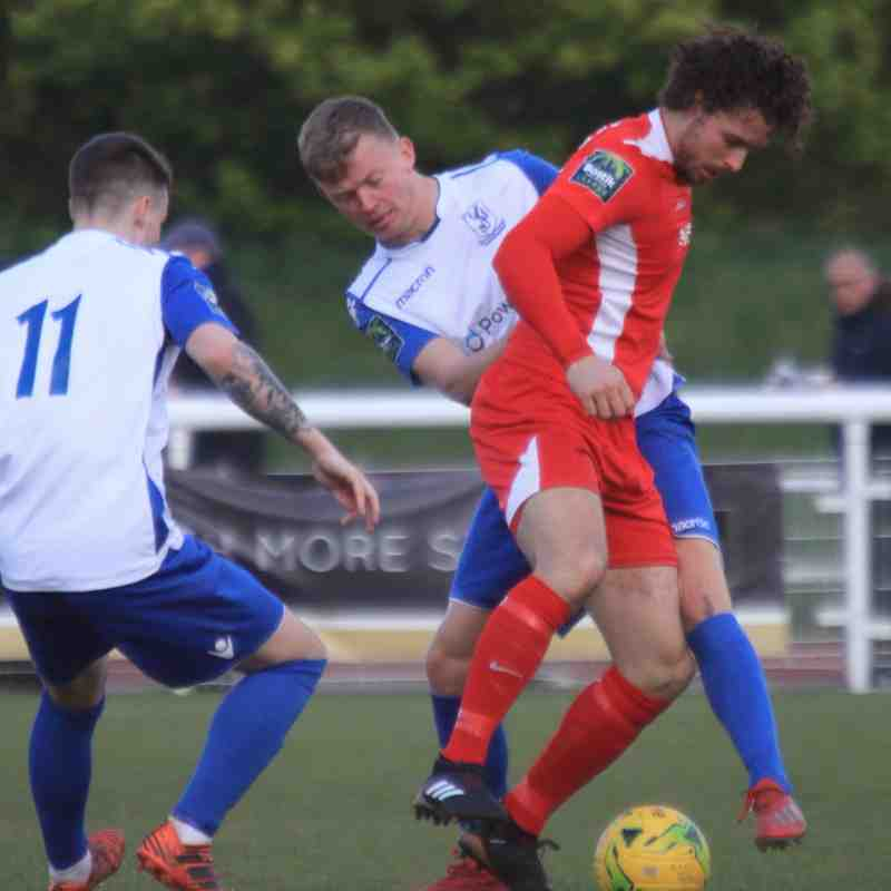 Enfield Town 0 Carshalton Athletic 3 (13.04.2019)