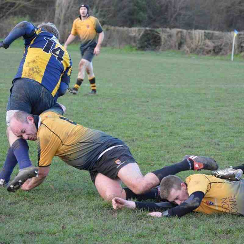 Vs Canterbury 11.01.14