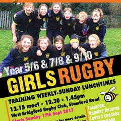 Girls Tag Rugby-Posters