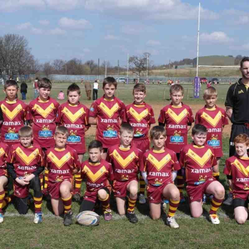 U11s Team photo April 2013