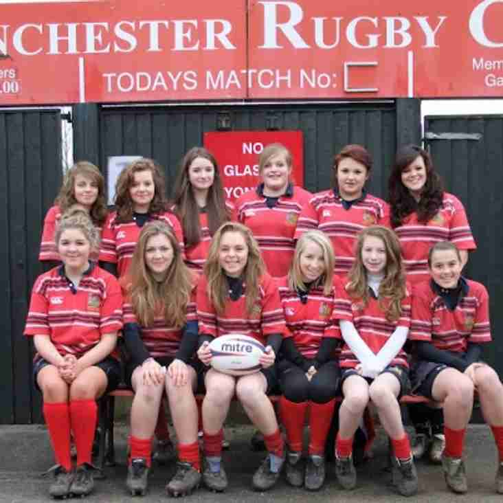 U15 Girls Rugby Presentations - Sunday 13th May